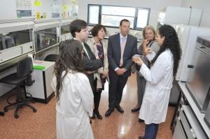 Visita el laboratorio La ONCE Asturias
