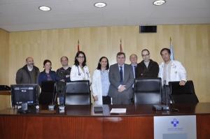 """Conferencia del Dr. Vizoso en el Hospital de Cabueñes sobre el """"Potencial terapéutico de las células madre del cérvix uterino"""""""